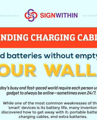 How To Find Charging Cables And Batteries