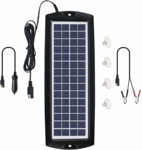 Sunway Solar Car Battery Charger