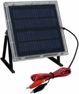 Waterproof Solar Sealed Lead Acid Battery Charger UV87511